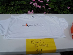 You, too, can purchase your very own B and O T-shirt for $15!