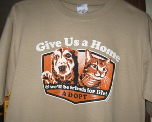 Union County Humane Society t-shirt
