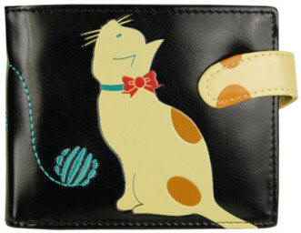 Cat Wallet made of Polyurethane from PJ Publications.